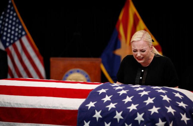 Meghan McCain at John McCain's funeral