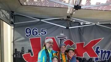 Photos - JACK FM Street Team at Sounders 8/19
