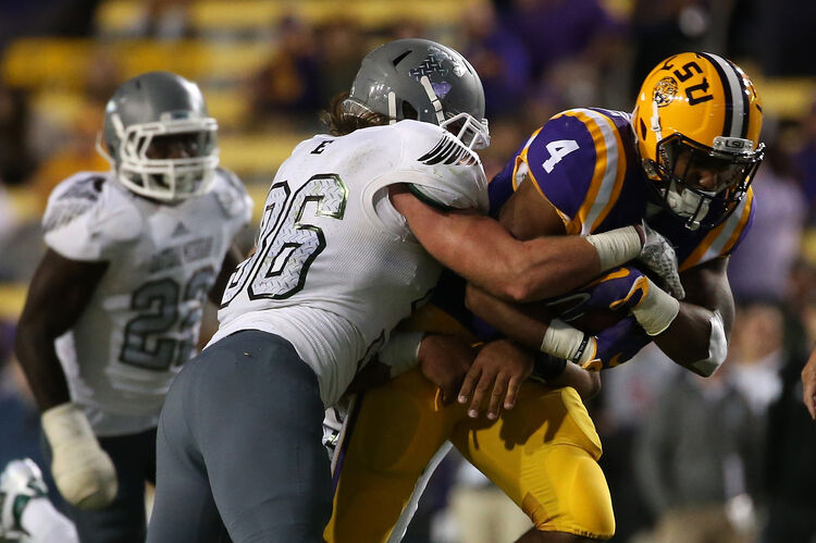 LSU nick brossette Getty Images