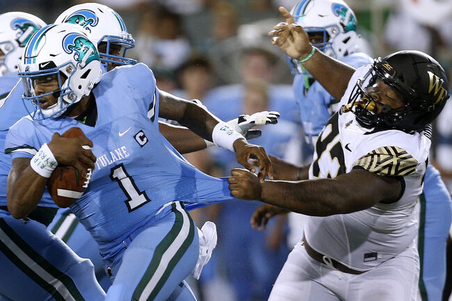 Tulane Wake Forest Getty Images