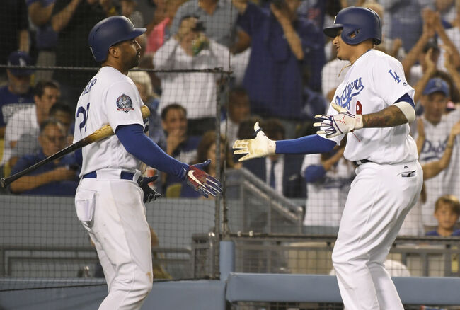 Matt Kemp and Manny Machado