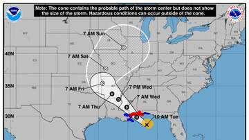 Operation Stormwatch - Tropical Storm Gordon Takes Aim On Northern Gulf Coast