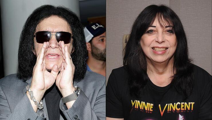 Gene Simmons Warns Vinnie Vincent About KISS Trademark