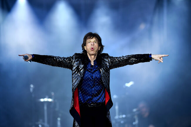 Mick Jagger, May 2018, Charles McQuillan/Getty Images