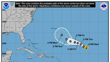 Operation Stormwatch - Hurricane Florence Now A Category 4 Storm
