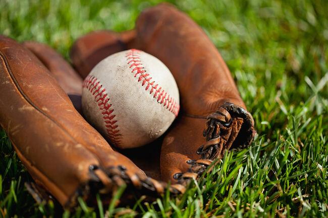 Baseball In Glove Getty RF