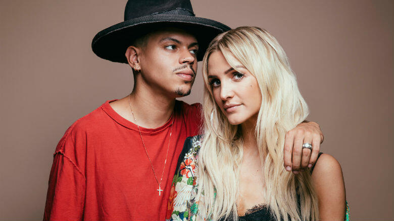 Ashlee Simpson & Evan Ross Talk New Music Rollout With E! Reality Show