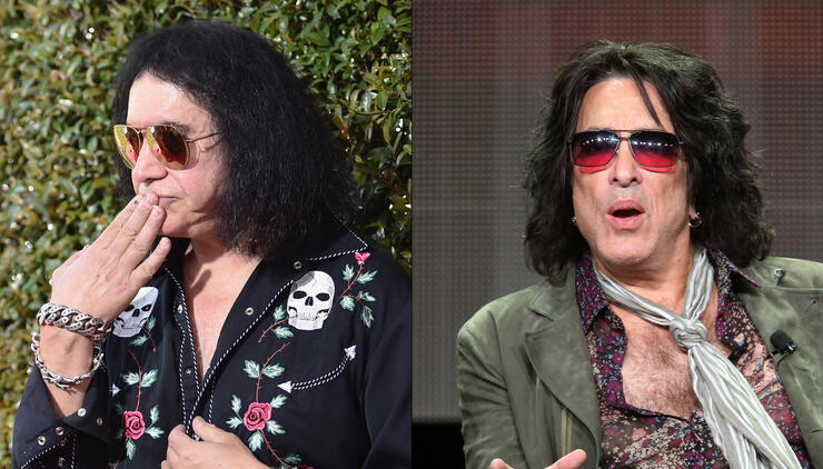 Gene Simmons Mocks Paul Stanley's Voice Problems on Stage