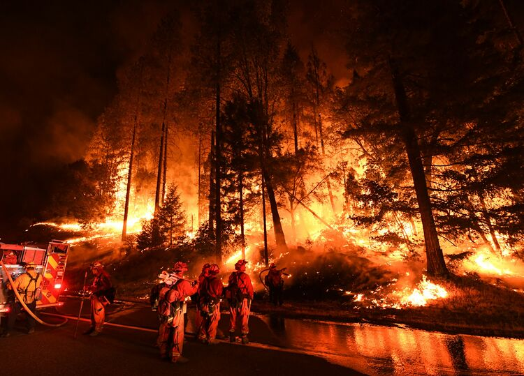 CalFire running low on funds