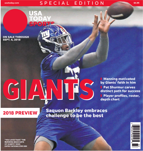 USA Today NY Giants Season Preview