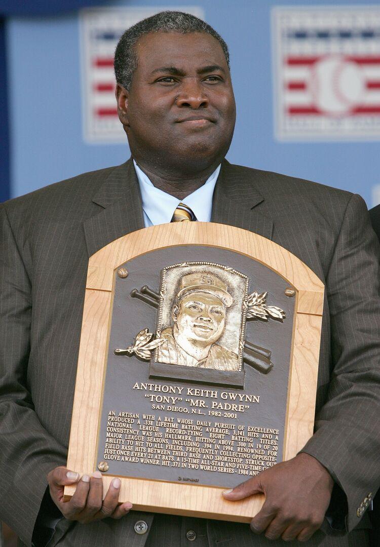 Tony Gwynn Hall of Fame