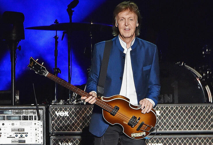 Paul McCartney Plays Surprise Concert at NYC's Grand Central Terminal   iHeartRadio