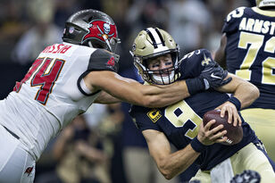 Buccaneers Outlast Saints, 48-40