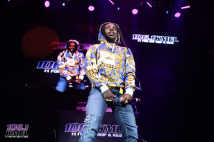 Jacquees Brought His Dance Moves Out at #KMELSummerJam