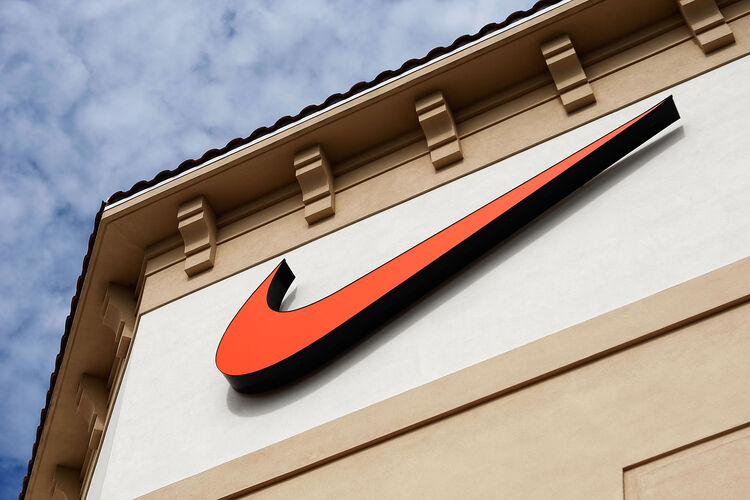 Nike Logo Getty Images