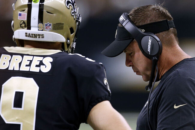 Sean payton Drew Brees Getty Images