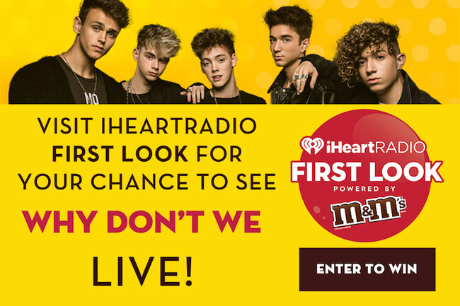 Why Don't We iHeartRadio Contest