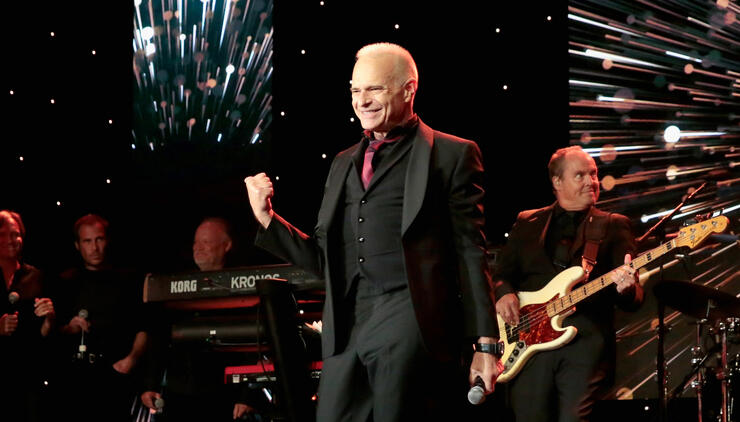 Watch David Lee Roth Perform at Charity Event