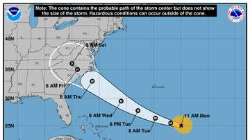 Operation Stormwatch - Florence Is Once Again A Cat 4 Hurricane, Heading For The Carolina Coast