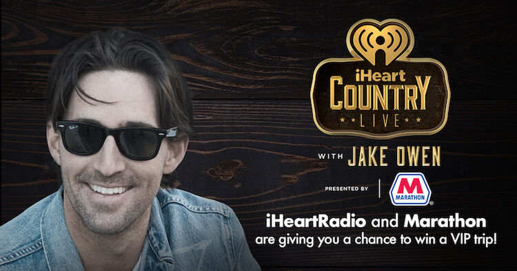Jake Owen iHeartCountry Show Contest