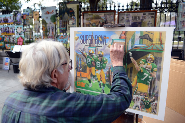 Jackson Square Street Artist Getty Images