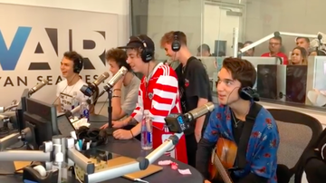 "Ryan Seacrest - Why Don't We Perform ""8 Letters"" Live In-Studio, Dish on Their Love Lives"