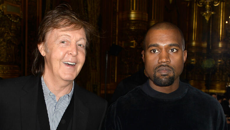 Kanye West Almost Produced A Paul McCartney Album