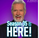 Big Mike - Alex Trebek shows off new beard.