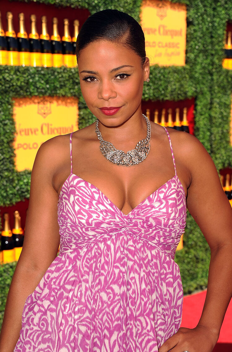 Veuve Clicquot Polo Classic Los Angeles - Red Carpet LOS ANGELES, CA - OCTOBER 09: Actress Sanaa Lathan arrives at Veuve Clicquot Polo Classic Los Angeles at Will Rogers State Historic Park on October 9, 2011 in Los Angeles, California. (Photo by Jason Merritt/Getty Images for Veuve Clicquot)