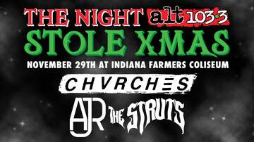 None - The Night Alt1033 Stole XMAS - Chvrches, AJR & the Struts