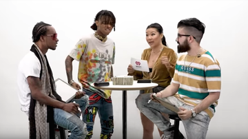 iHeartRadio Music Festival - Rae Sremmurd Faces Off Against A Fan In Trivia About Themselves (VIDEO)