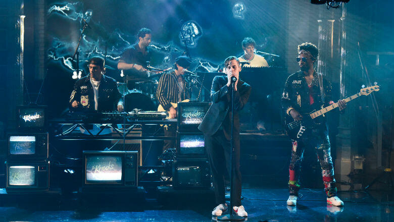 The Knocks & Foster The People Bring 'Ride Or Die' To 'Stephen Colbert'