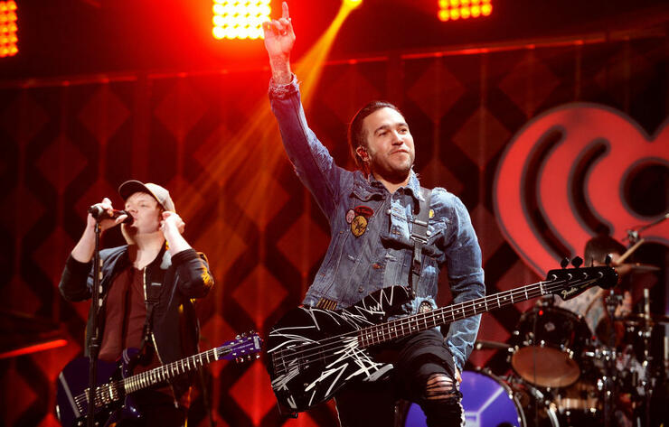 Fall Out Boy Announces Greatest Hits Album, Shares Track With Wyclef Jean | iHeartRadio