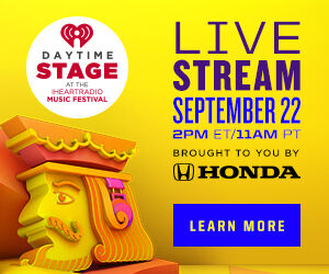 Daytime Stage at the iHeartRadio Music Festival Live Stream