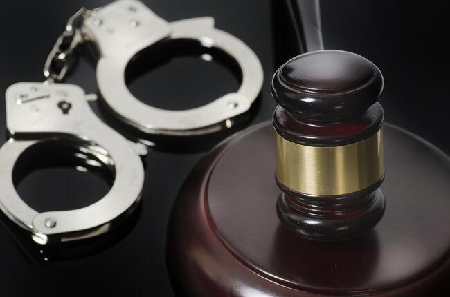 Gavel & Handcuffs Getty RF