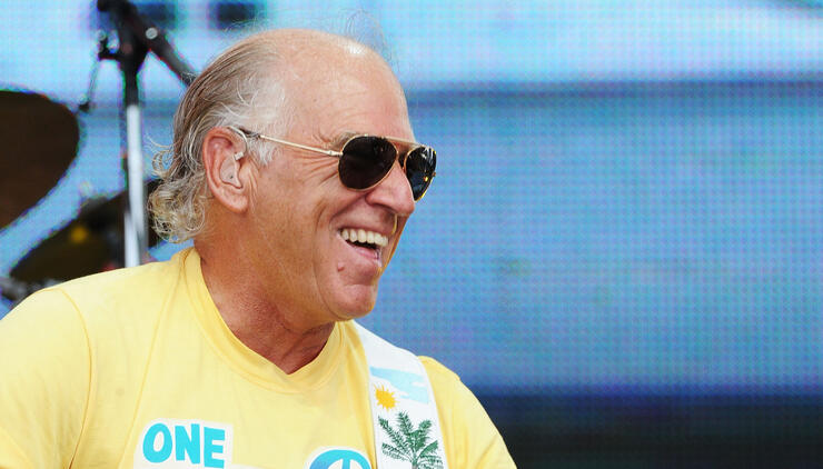 Jimmy Buffett Goes Surfing in South Carolina as Hurricane Approaches