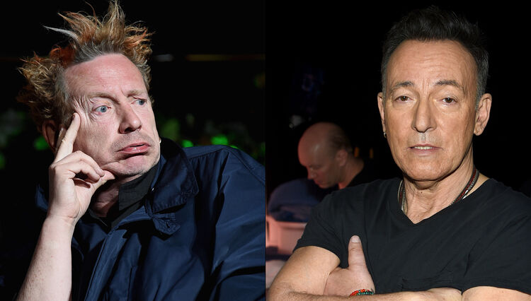 Johnny Rotten Once Caused Bruce Springsteen to Storm Out of a Gig