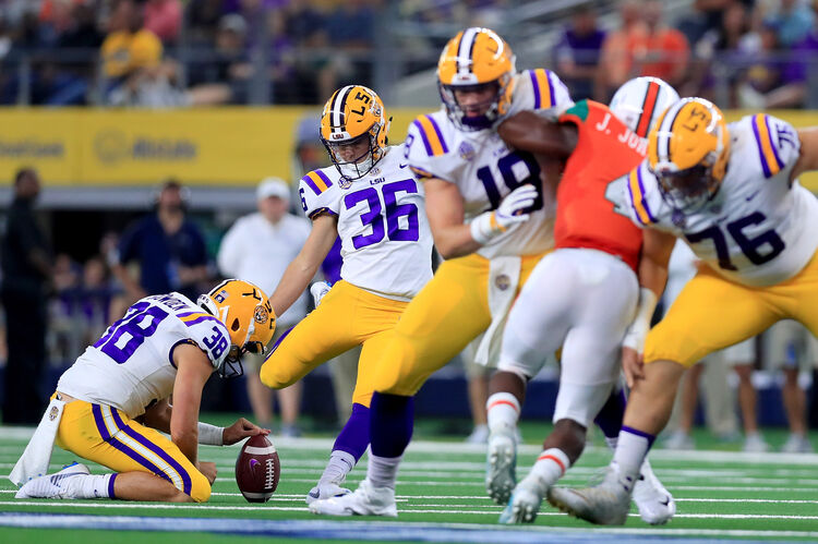 LSU Cole Tracy Getty images