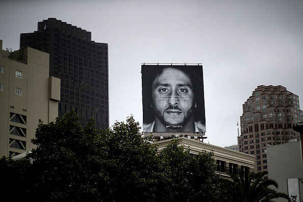 Nike stock soars following Colin Kaepernick Ad Campaign