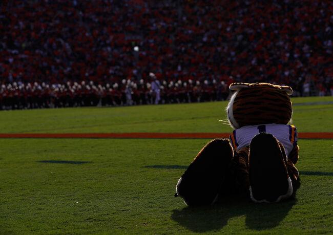 LSU vs Auburn Getty Images