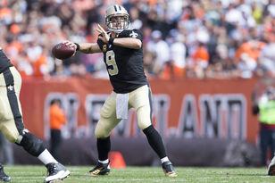 Saints' Drew Brees Braces For Improving Browns