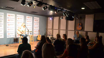 Photos - Brandon Elder & Jo Smith in the Polaris Listener Lounge