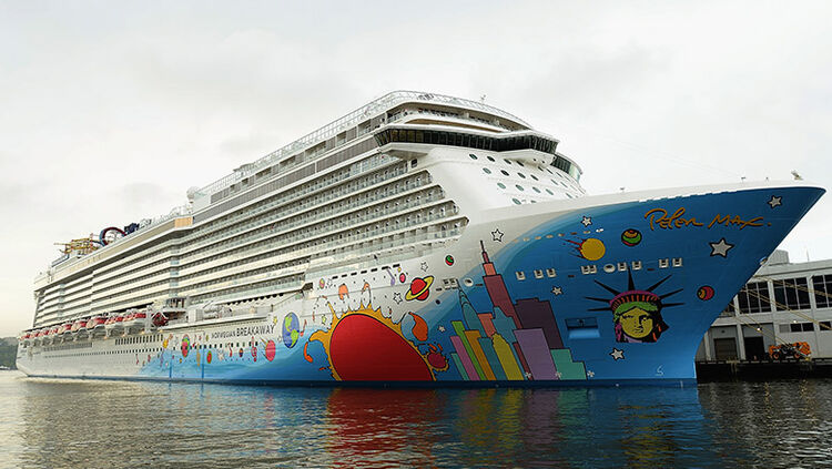 A general view during the Norwegian Breakaway