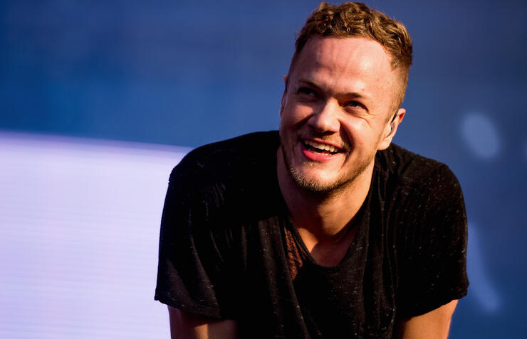 Imagine Dragons Wish 'Larger Than Life' Singer Dan Reynolds Happy Birthday | iHeartRadio