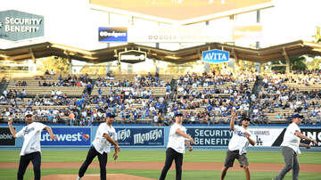 LA Kings Audio Network - LA Kings Take The Field At Dodgers Stadium