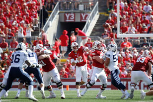 Alex Hornibrook says the Badgers are already past the loss to BYU