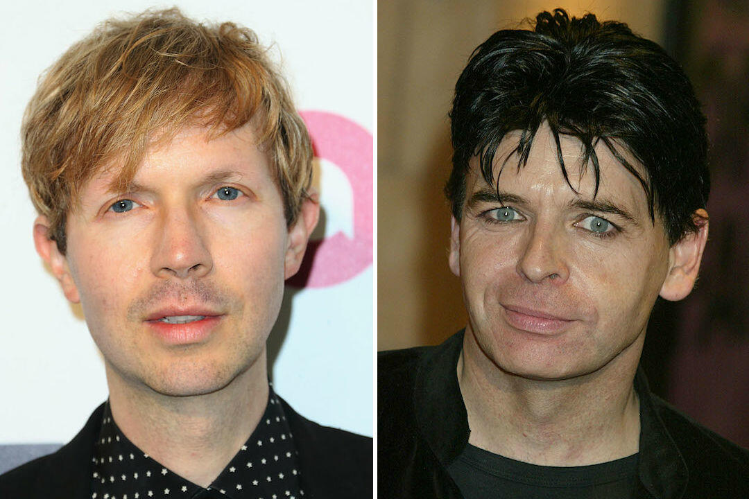 """Beck Covers """"Cars"""" With Gary Numan at Riot Fest"""