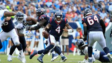 Houston Texans - Texans fall to the Titans
