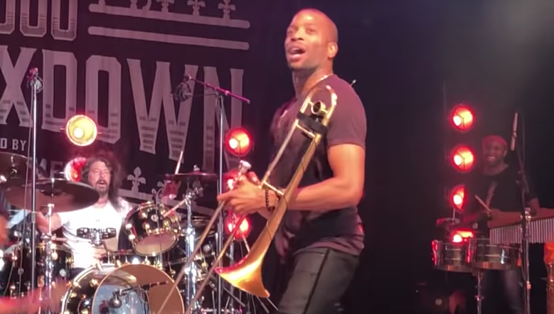 Dave Grohl Joins Trombone Shorty For Rare Rendition Of Nirvana's 'In Bloom'