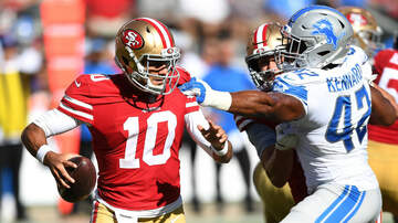 The KFAN Bits Page - 49ers have little to celebrate after 30-27 win over Lions | KFAN+